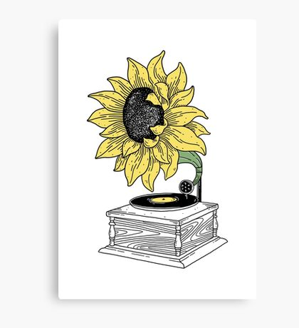 Singing in the sun Canvas Print