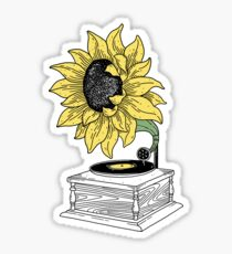Singing in the sun Sticker