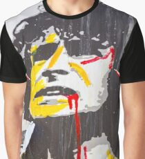 Melbourne Street Art Retrospective - AC DC Lane Graphic T-Shirt