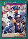 234 - Joe Girardi by Foob's Baseball Cards