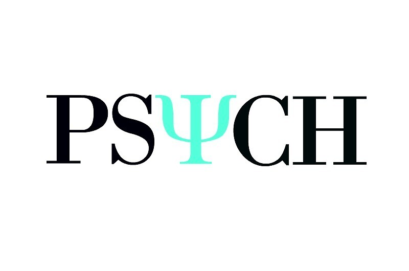 Black and Teal Psych Symbol Sticker by Maddy Sylvester