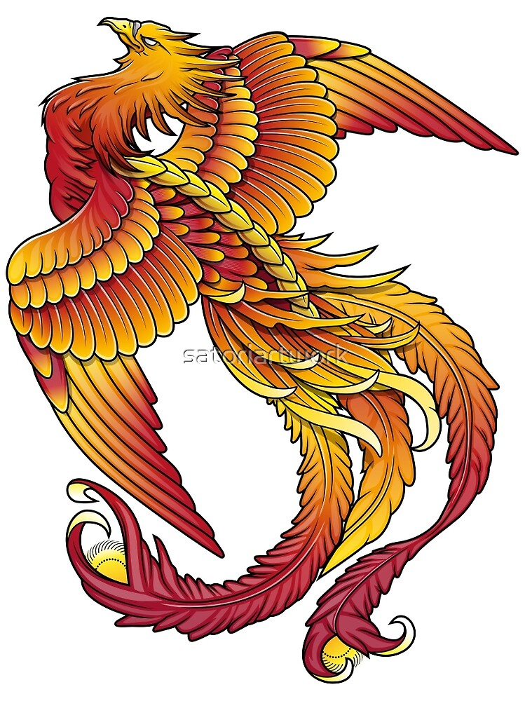 Firebird by satoriartwork