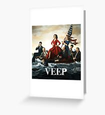 Veep Greeting Card