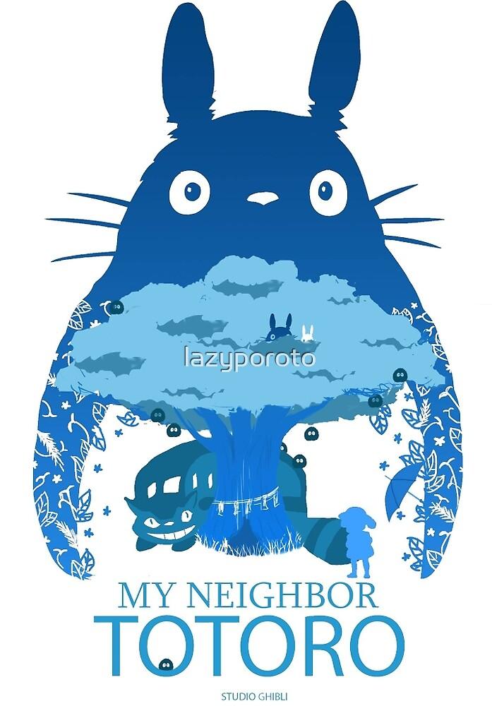 My Neighbour Totoro by lazyporoto