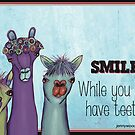Smile while you still have teeth by Jenny Wood