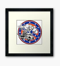 Ghostbusters of Hazzard - Franchise Logo Framed Print