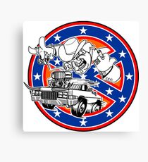 Ghostbusters of Hazzard - Franchise Logo Canvas Print