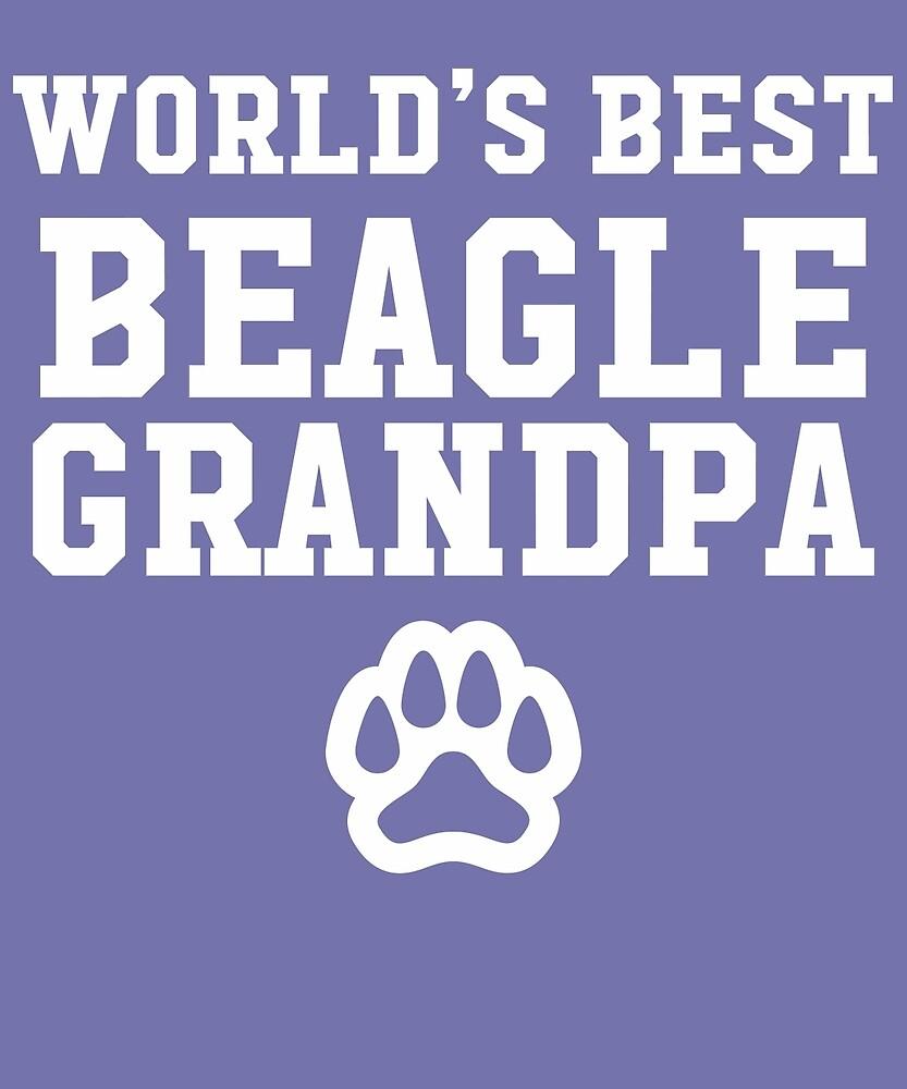 World's Best Beagle Grandpa by AlwaysAwesome