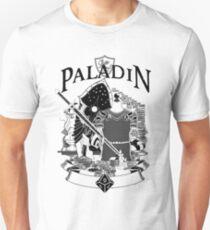RPG Class Series: Paladin - Black Version T-Shirt