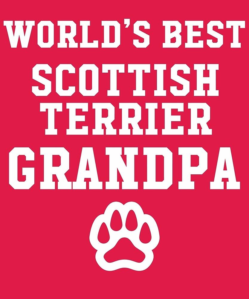 World's Best Scottish Terrier Grandpa by AlwaysAwesome