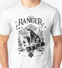 RPG Class Series: Ranger - Black Version Unisex T-Shirt
