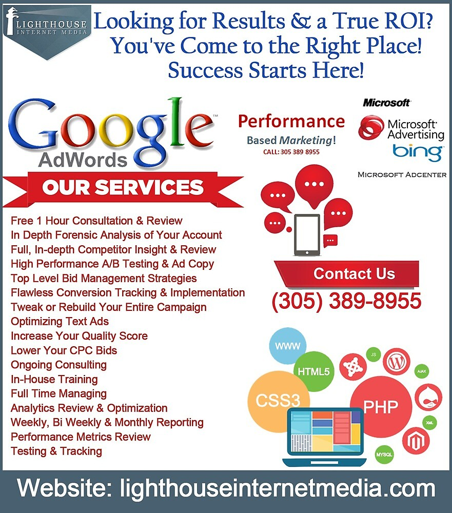 Search Engine Marketing Miami by lighthousemedia