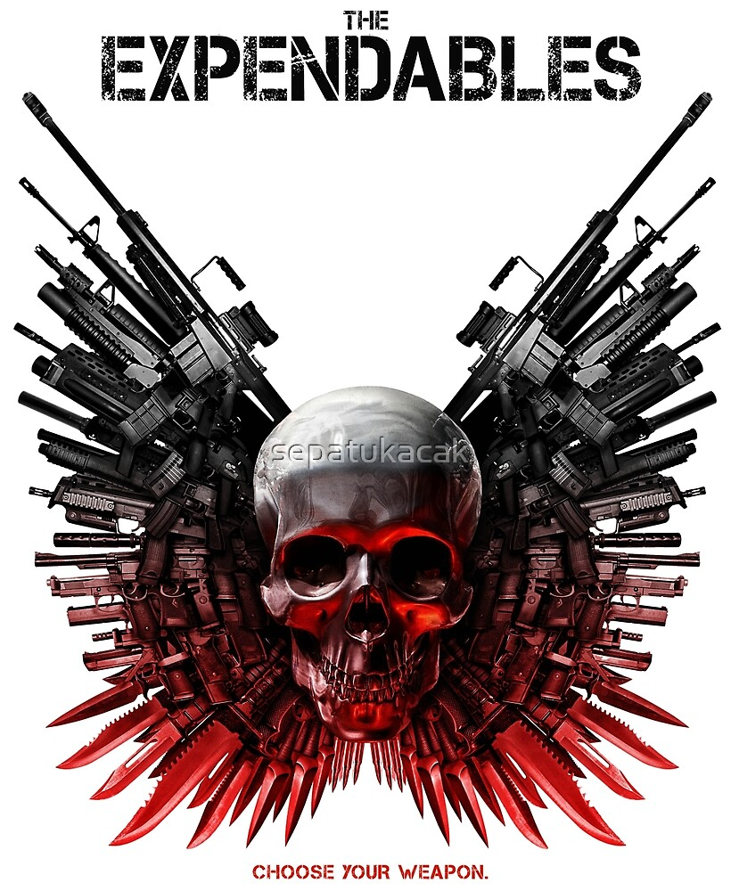 The Expendables Movie by sepatukacak