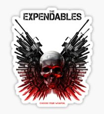 The Expendables Movie Sticker