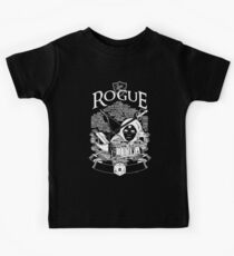 RPG Class Series: Rogue - White Version Kids Clothes