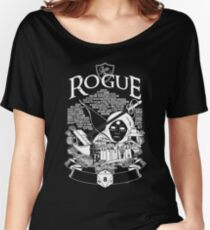 RPG Class Series: Rogue - White Version Women's Relaxed Fit T-Shirt