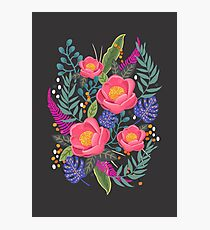 Night Blossom art print Photographic Print