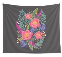 Night Blossom art print Wall Tapestry