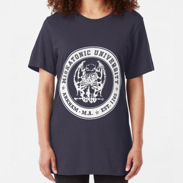 Miskatonic University T-shirt ajusté
