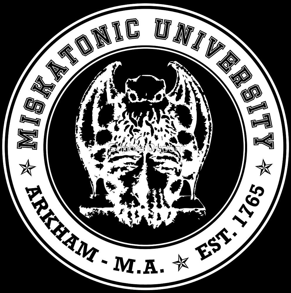 Miskatonic University by Sophie Dupont
