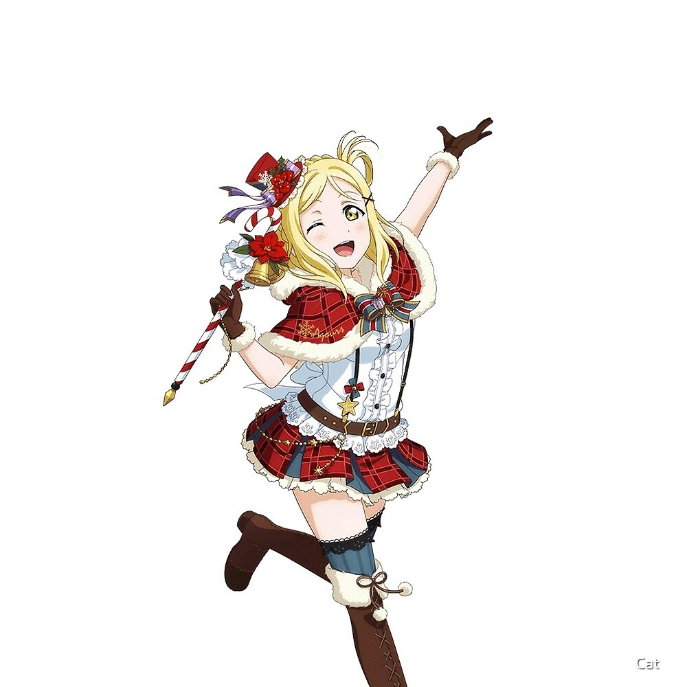 Ohara Mari Christmas Set Sticker by Cat ☆