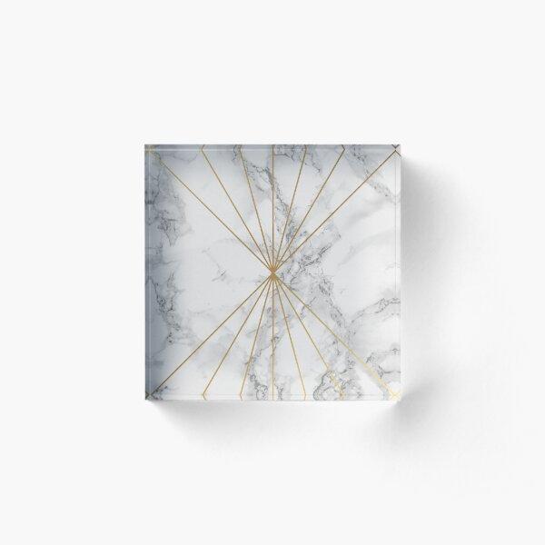 Marble #8 Acrylic Block