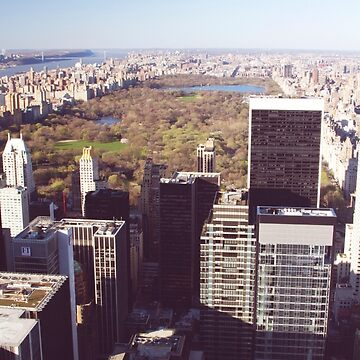 View of Central Park from the top of The Rock by NYStateofMind