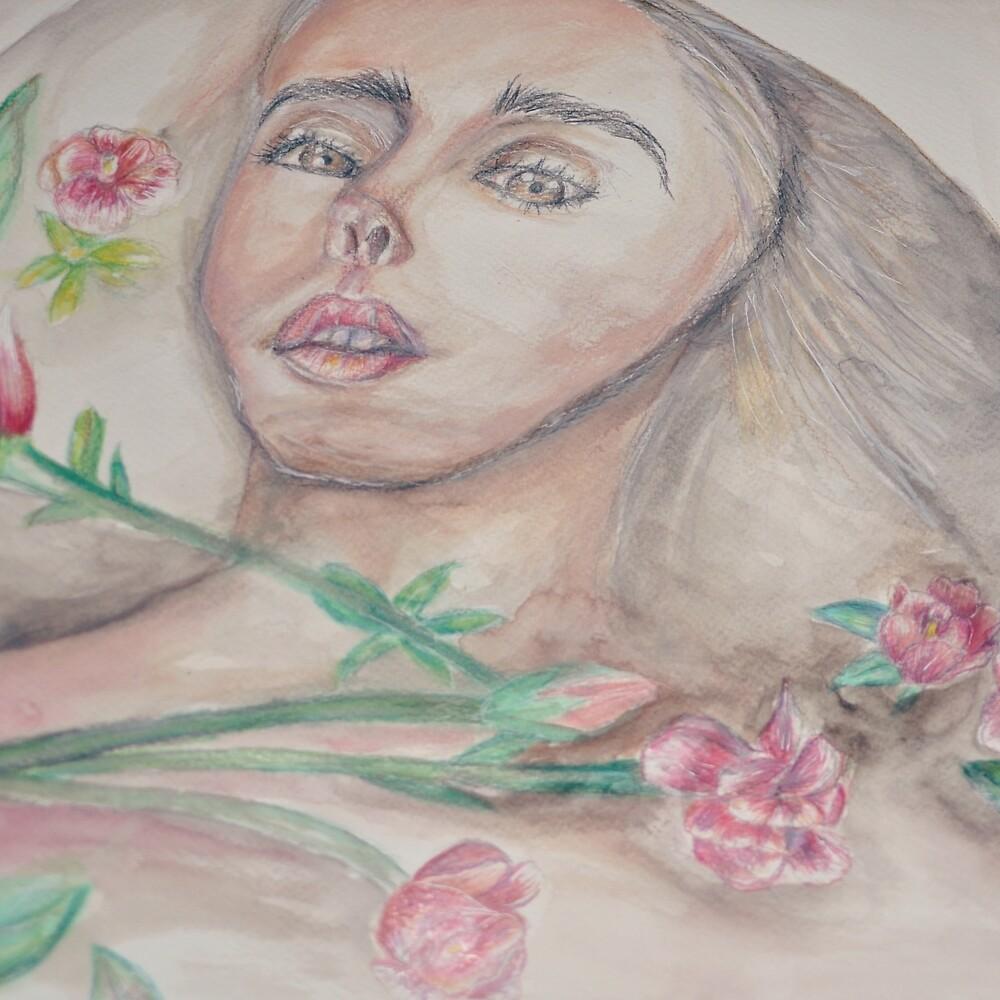 Bathing in roses  by omarf