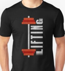 LIFTING WEIGHTS FITNESS WORKOUT T-Shirt