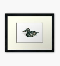 Decoy #3 Framed Print
