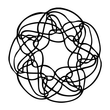 Seven Way Venn Diagram by jamesmcinerney