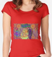 Vedic visions on Soma Women's Fitted Scoop T-Shirt