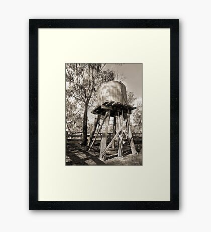 Limited Water Supply Framed Print