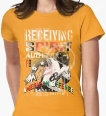 on the receiving end! Womens Fitted T-Shirt
