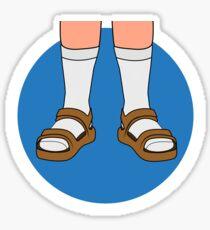 Socks & Birkenstocks Sticker