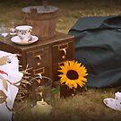 vintage wedding by Fiona Gardner