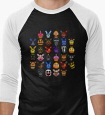 NEW - FNAF Multiple Animatronics - (Dec 2016) - Pixel art T-Shirt