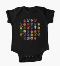 NEW - FNAF Multiple Animatronics - (Dec 2016) - Pixel art Kids Clothes