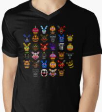 NEW - FNAF Multiple Animatronics - (Dec 2016) - Pixel art T-Shirt