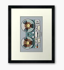 Tape recorder Framed Print