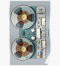 Tape recorder Poster