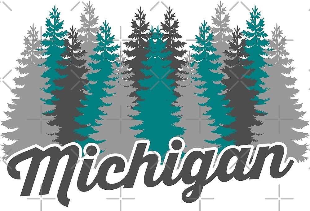 Michigan Trees by thedline