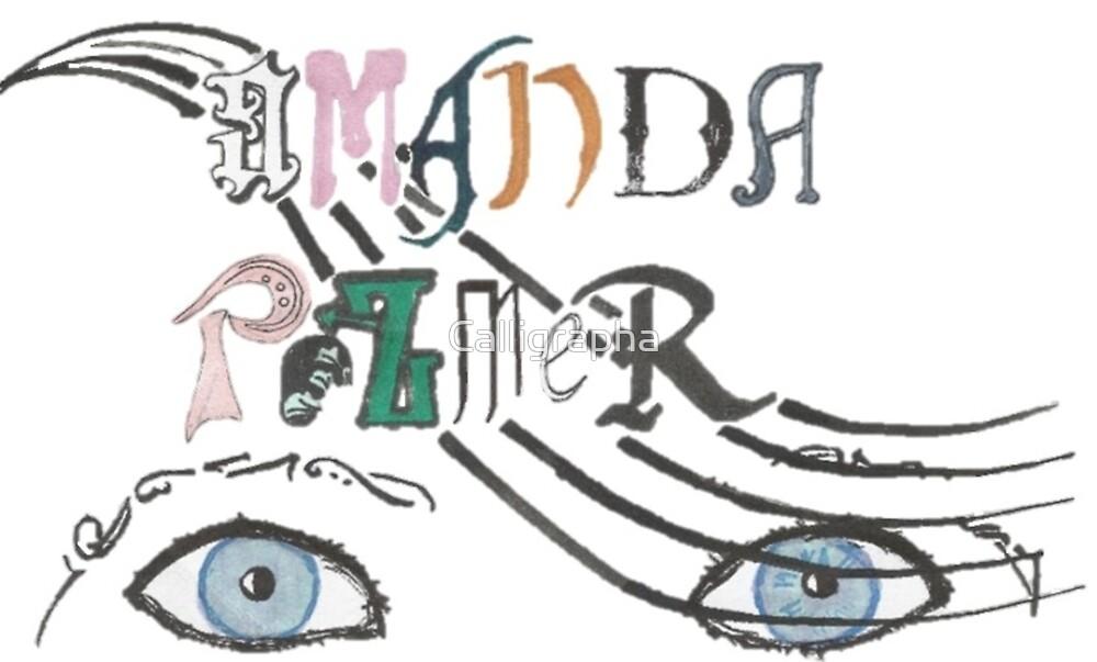 Amanda Palmer homage by Calligrapha