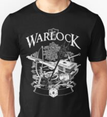RPG Class Series: Warlock - White Version T-Shirt