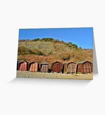 Brown - For A Change Greeting Card