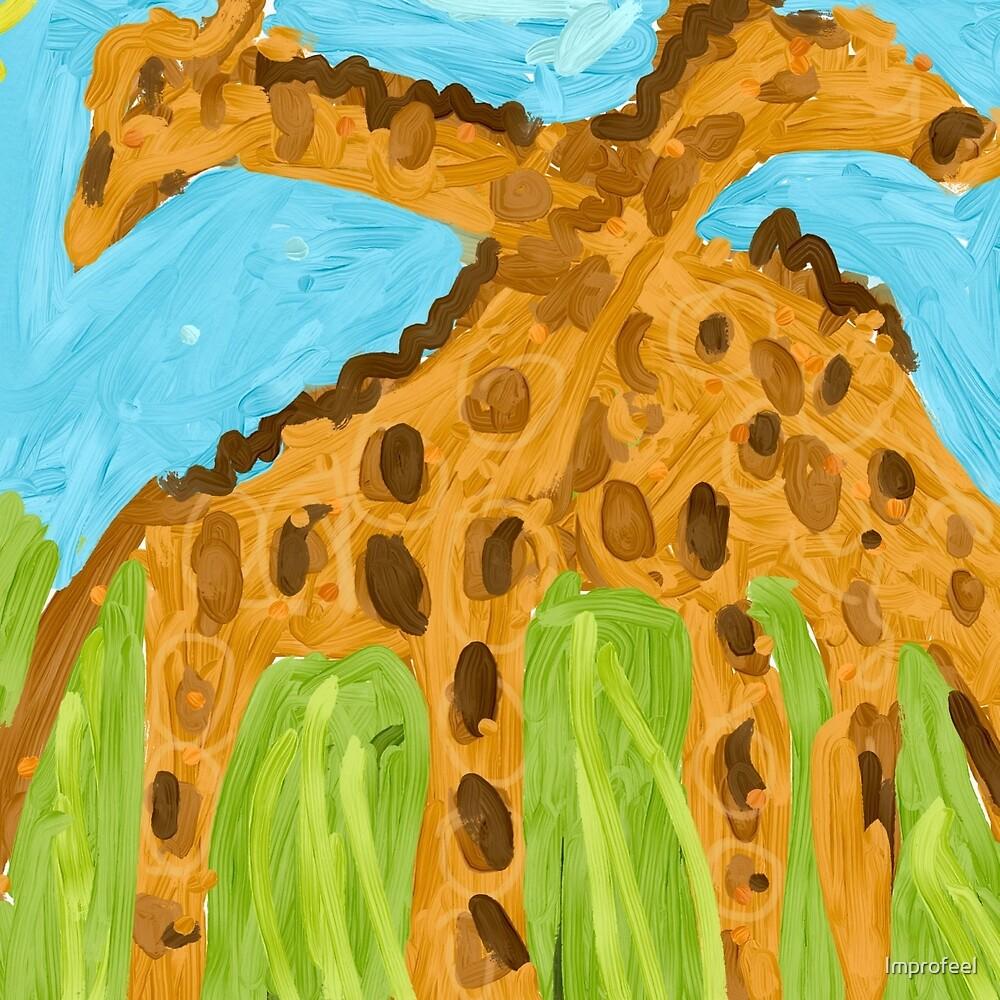 Giraffes  by Improfeel