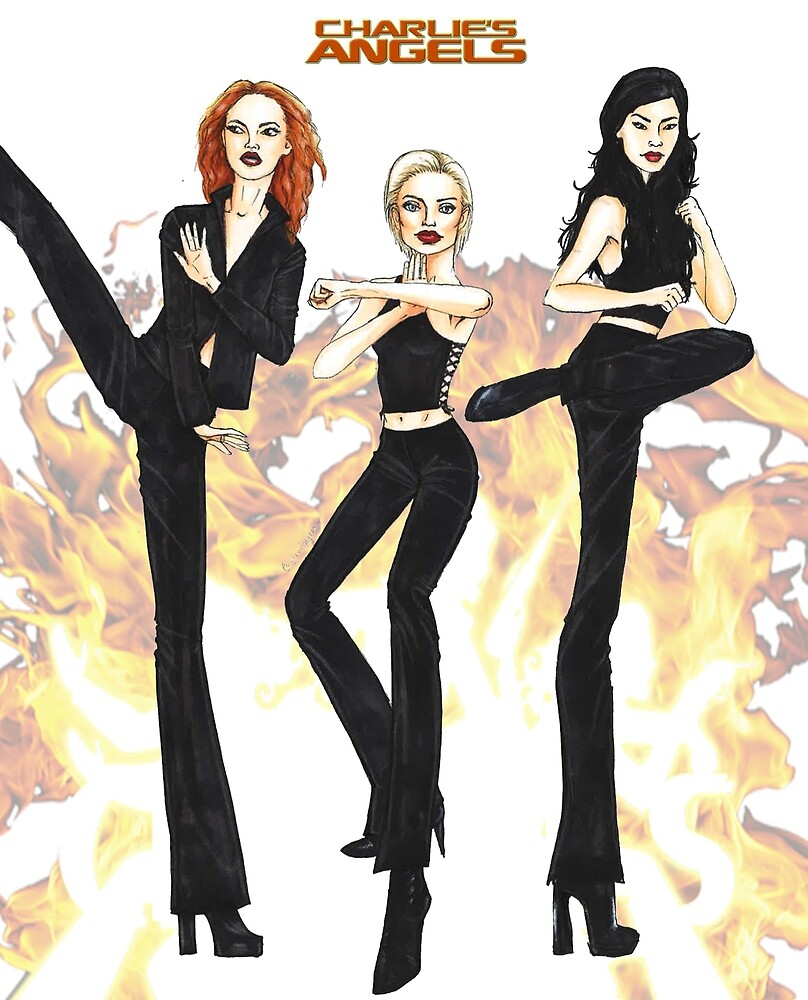 Charlies Angels by elinpersson
