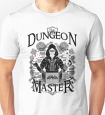 Dungeon Master - Black Unisex T-Shirt