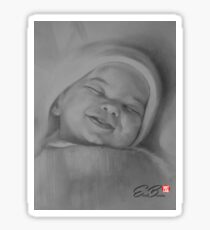Sleeping Newborn Sticker
