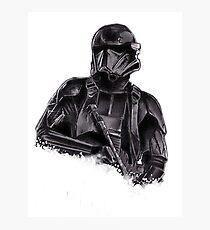 Death trooper Photographic Print